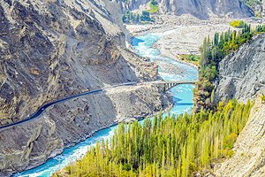 The Karakoram Highway: Discover the ancient Silk Road and the world of miracles