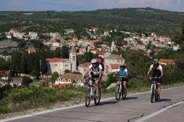 Cycling on Brac island
