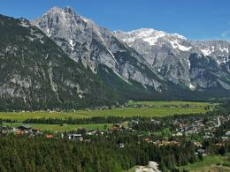 Mount Zugspitze selfguided trek Germany